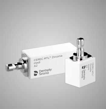 Dentsply Sirona Launches New High-Strength Zirconia CAD/CAM Block