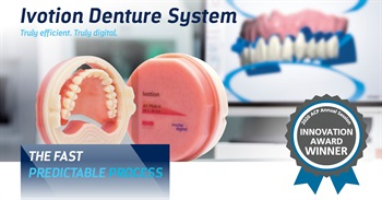 Ivotion Digital Denture Solution Wins 2020 ACP Product Innovation Showcase Award
