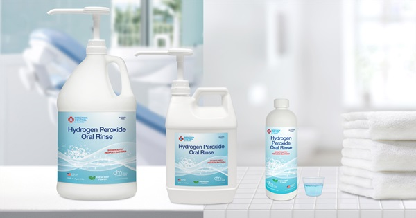 DenMat Introduces a New Hydrogen Peroxide Oral Rinse