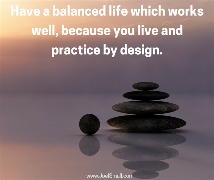 Balance and Making Time