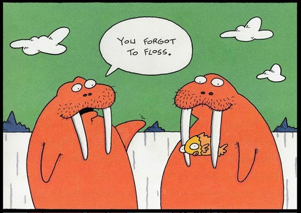 Flossing Flouters