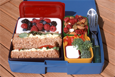 Much to Munch with School Lunches