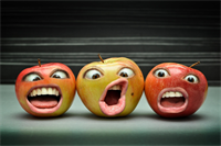 The Apple of Your Eye - and Teeth!
