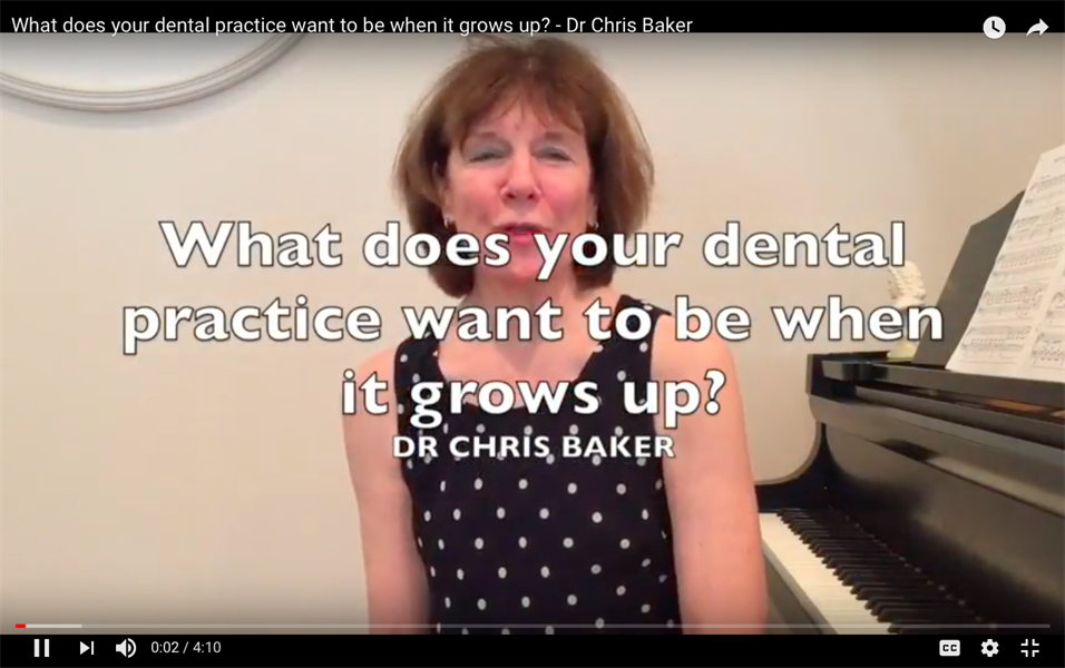 What does your dental practice want to be when it grows up?