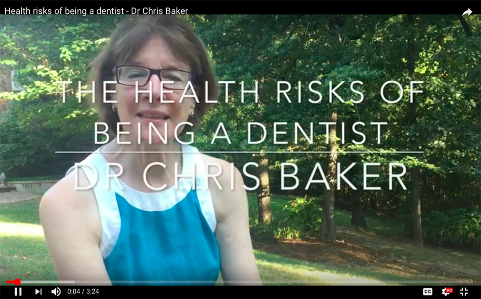 The Health Risks of Being a Dentist
