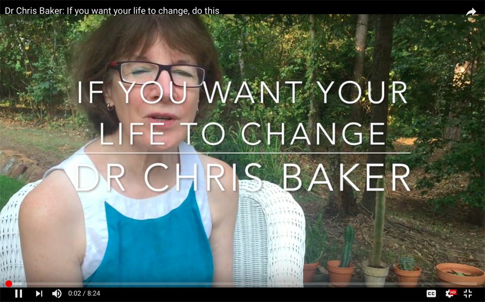 If you want your life to change, do this