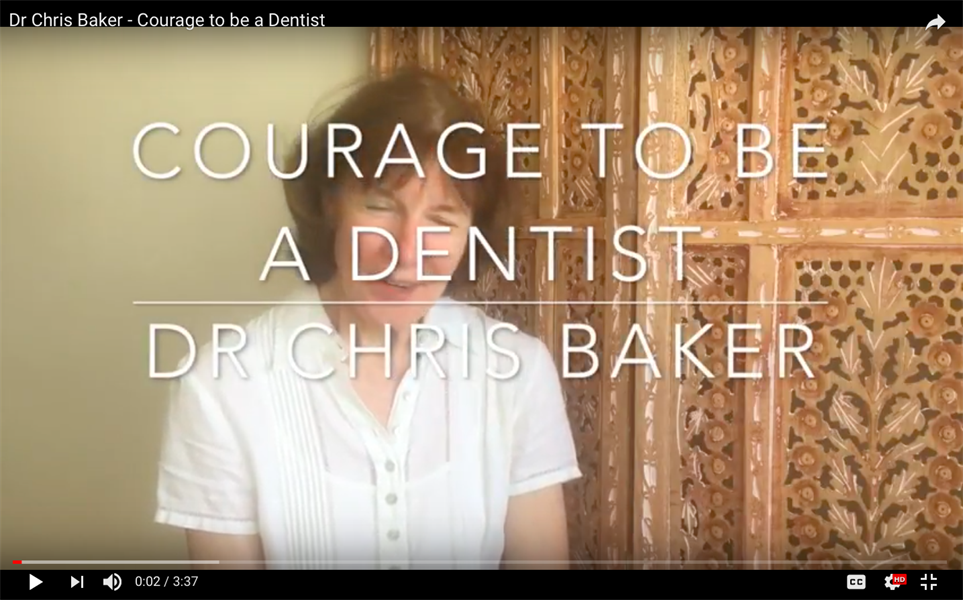 Courage to be a Dentist (and the role orthodontics might play)