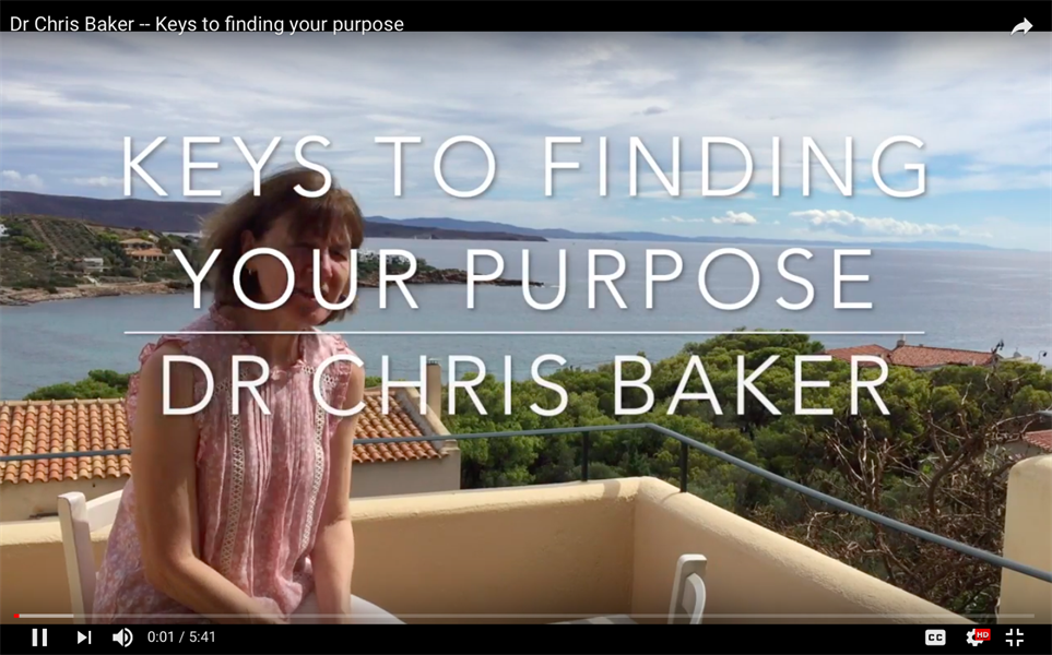 Keys to finding your purpose
