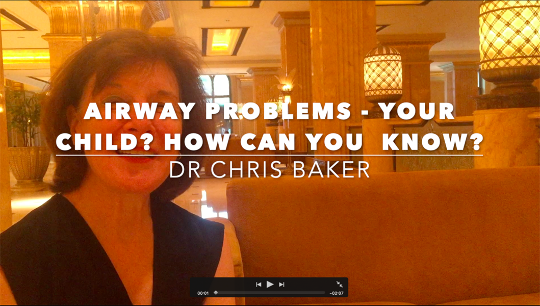 Airway Problems in Your Child?  How Can You Know?