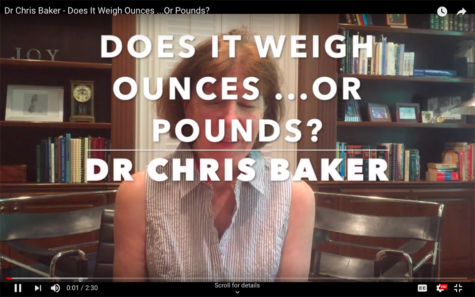 Does it weigh ounces... or pounds?