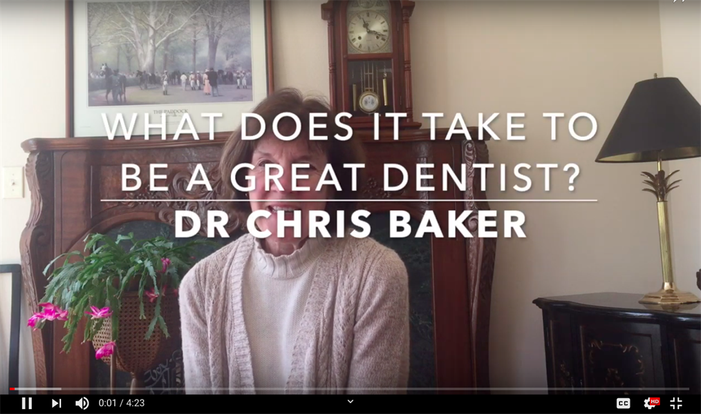 What Does It Take To Be A Great Dentist?