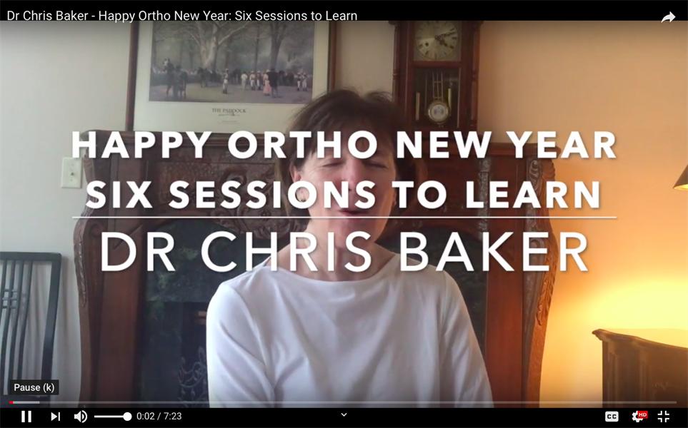 Happy Ortho New Year: Six Sessions to Learn