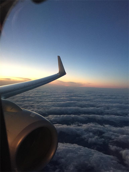 Leaving on a jet plane... to Abu Dhabi