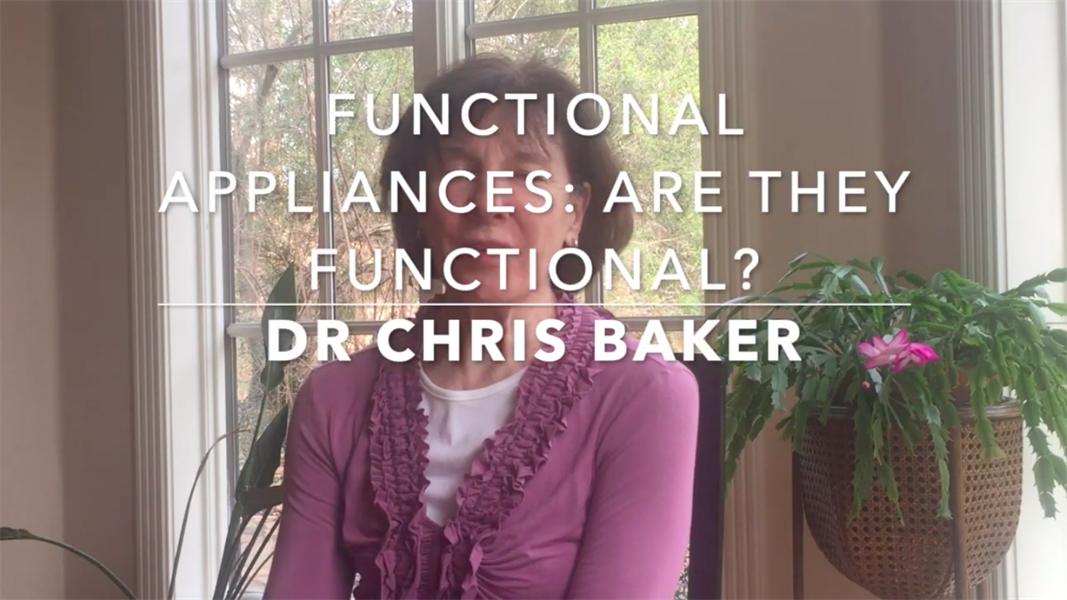 Functional Appliances: Are They Functional?