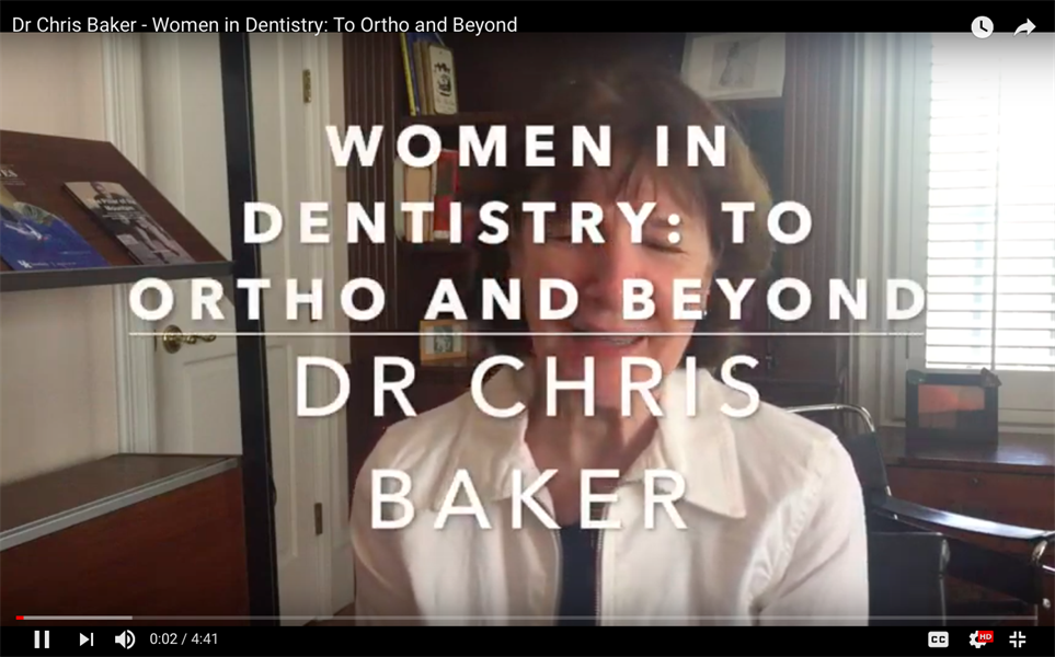 Women in Dentistry - To Ortho and Beyond