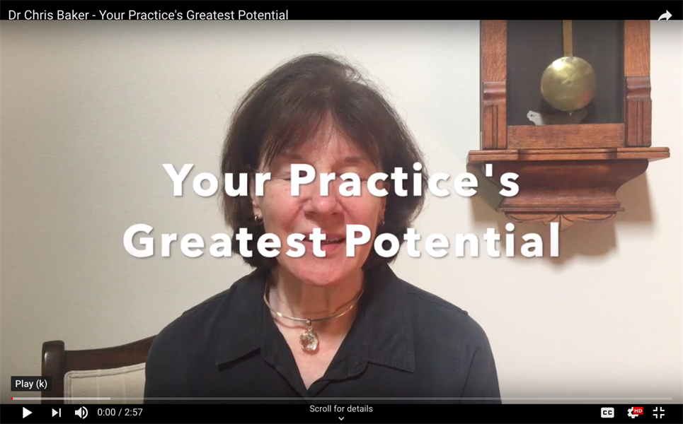 How to Find Your Practice's Greatest Potential