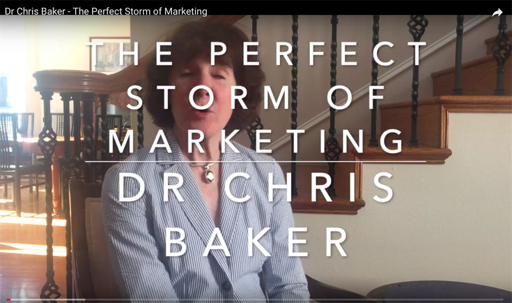 The 'Perfect Storm' of Marketing