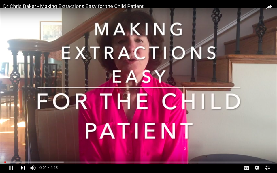 Making Extractions Easy for the Child Patient