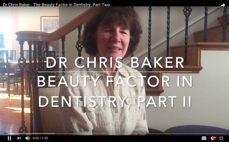 The Beauty Factor in Dentistry, Part II
