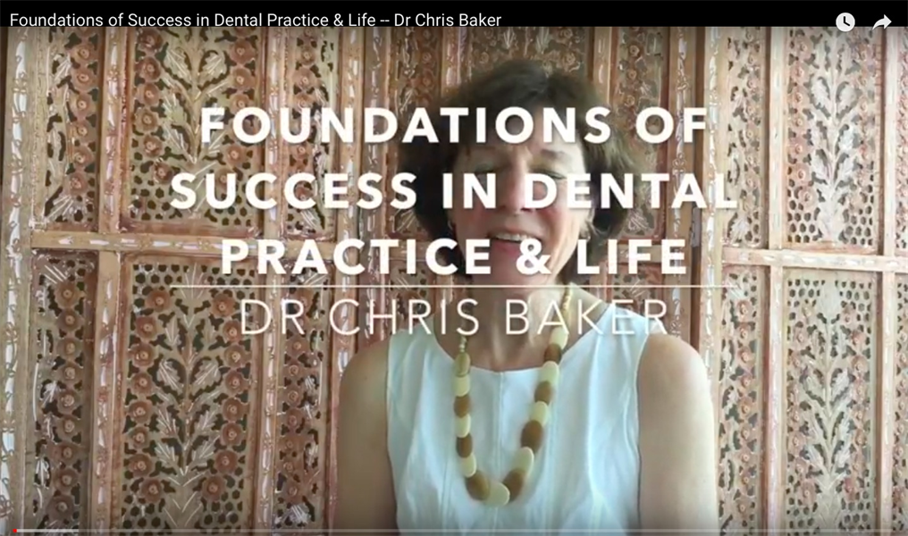 Foundations of Dental Practice Success & Life