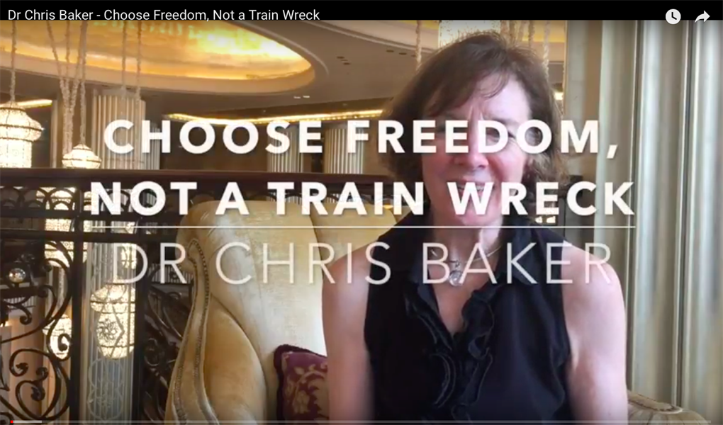 With Your Practice, Choose Freedom, Not a Train Wreck