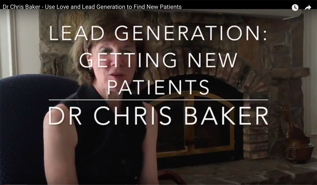 Use Love and Lead Generation to Get New Patients