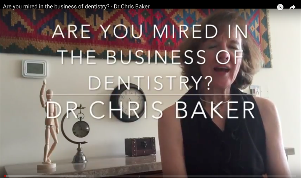 Are You Mired In the Business of Dentistry?