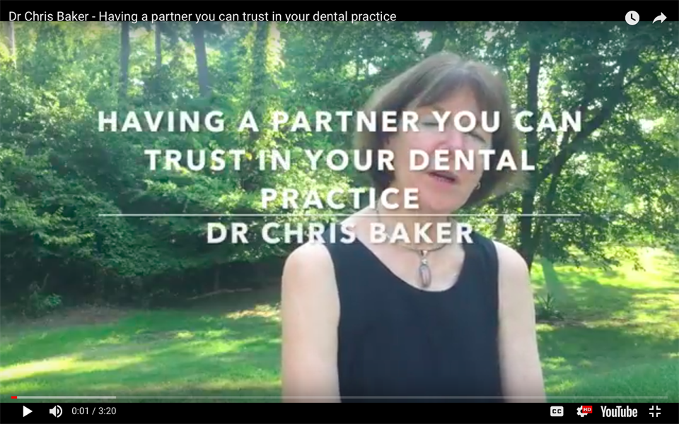 Having a partner you can trust help run your dental practice