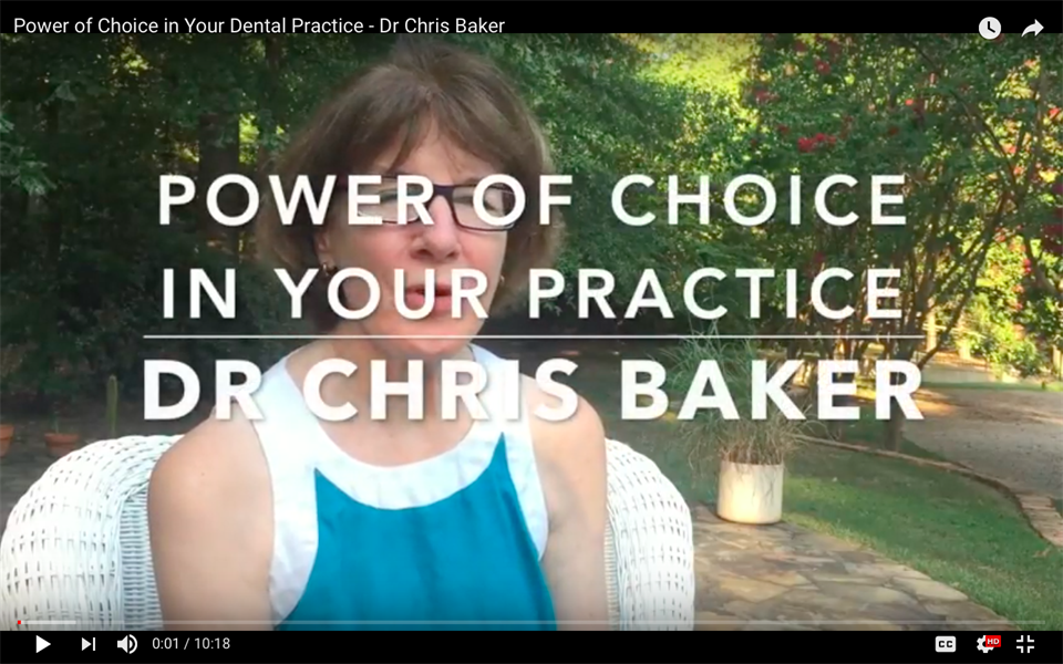 The Power of Choice in Your Dental Practice