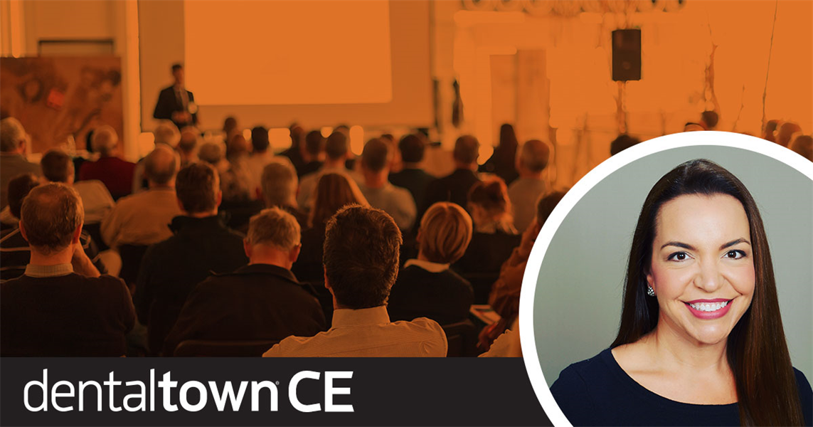 Dentaltown Learning Online...Less is More: Minimally-Invasive Cosmetic Treatment Options for Enamel Defects.  By Dr. Jeanette MacLean