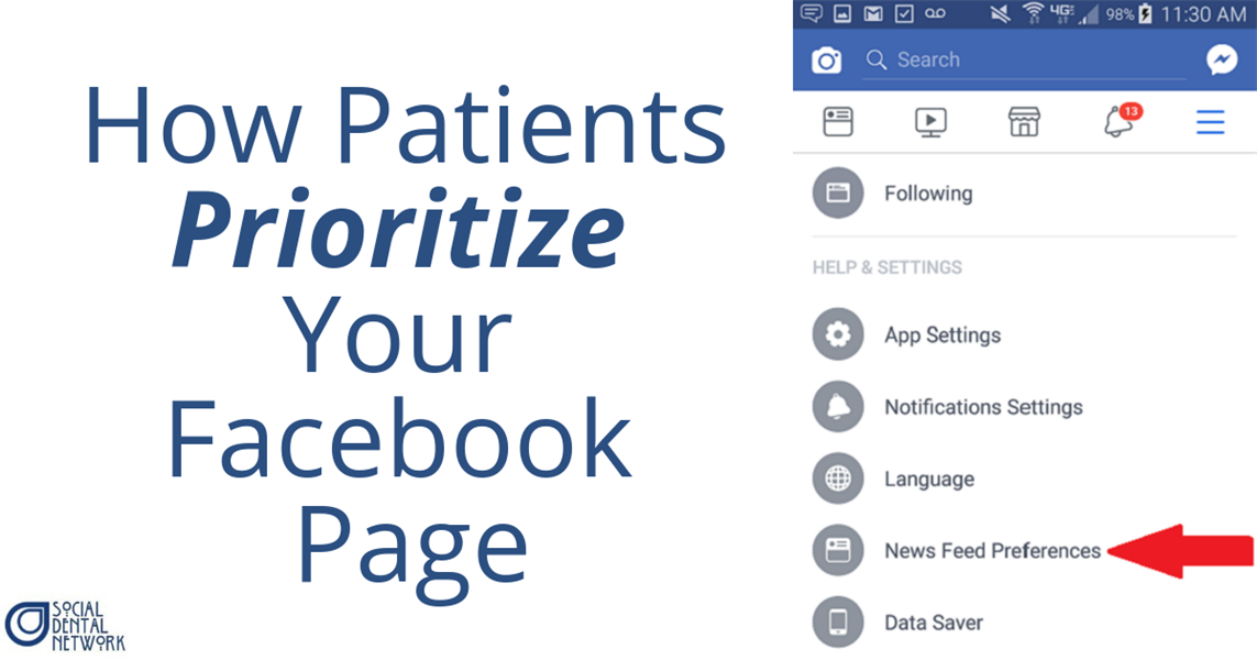 How Can Dentists on Facebook Get Every Post Seen By Patients?