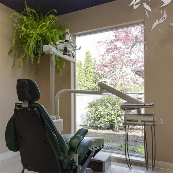 Part 2: More on the best chair position in the operatory and ceiling treatments