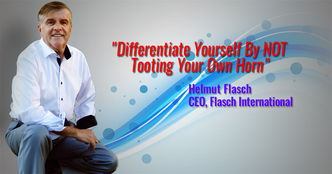 Differentiate Yourself By NOT Tooting Your Own Horn