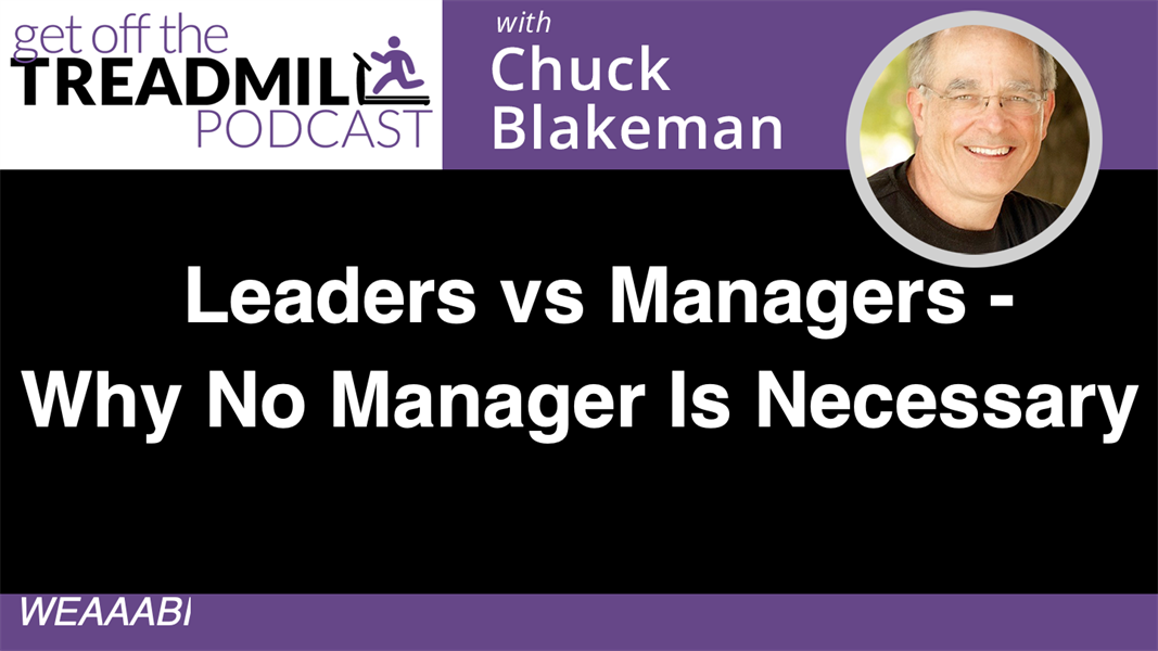 Leaders vs Managers - Why No Manager Is Necessary