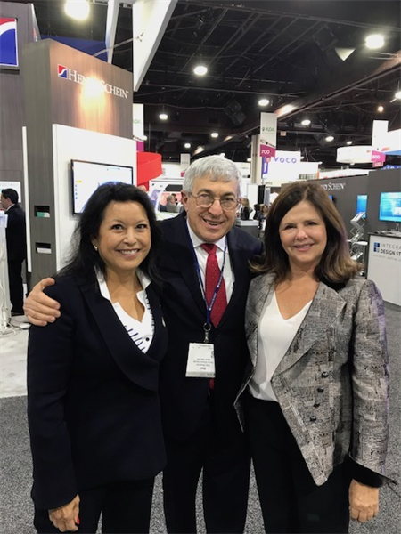 The Future of Dentistry is Bright! Mr. Stanley Bergman, CEO of Henry Schein with Dr. Carol Summerhays, past president of ADA, and Dr. Bette Robin