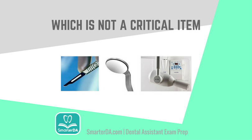 Q: Which instrument is NOT a critical item?