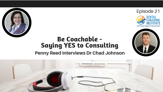 Be Coachable - Saying YES to Consulting