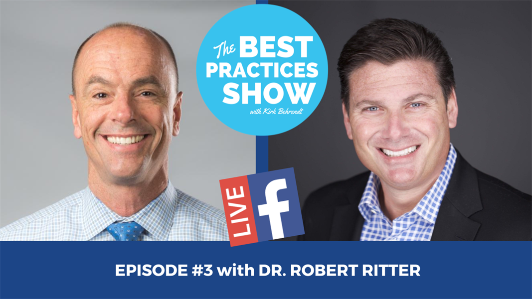 Episode #3 - Recommendation Marketing and Getting Good Reviews with Dr. Robert Ritter