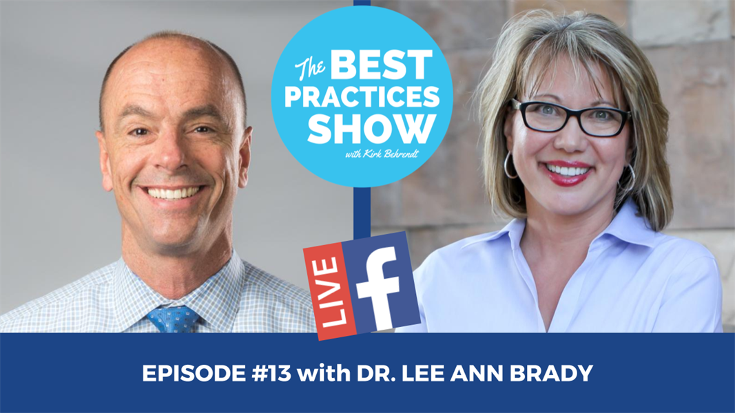 Episode #13 - Risks and Benefits with Patients with Dr. Lee Ann Brady
