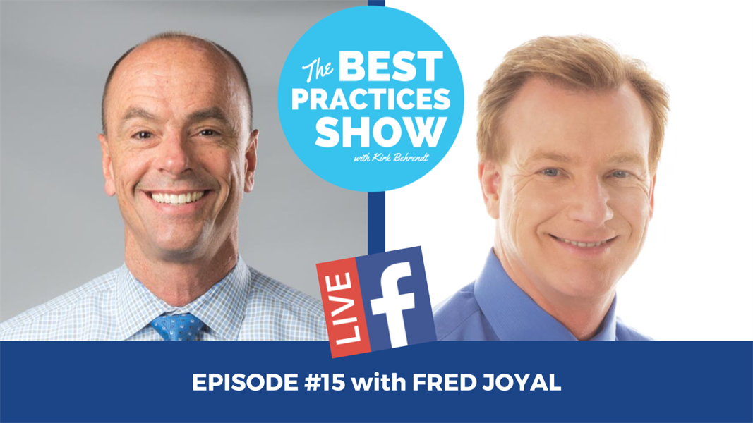Episode #15 - Five Ways Dental Marketing Fails with Fred Joyal