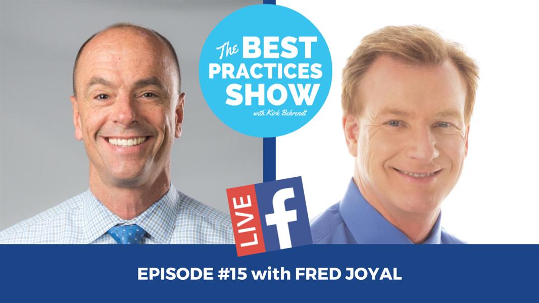 Episode #15 - Five Ways Dental Marketing Fails with Fred Joyal