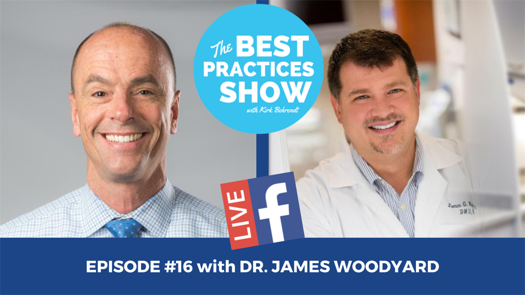Episode #16 - The Single Biggest Missed Opportunity in Restorative Dentistry with Dr. James Woodyard