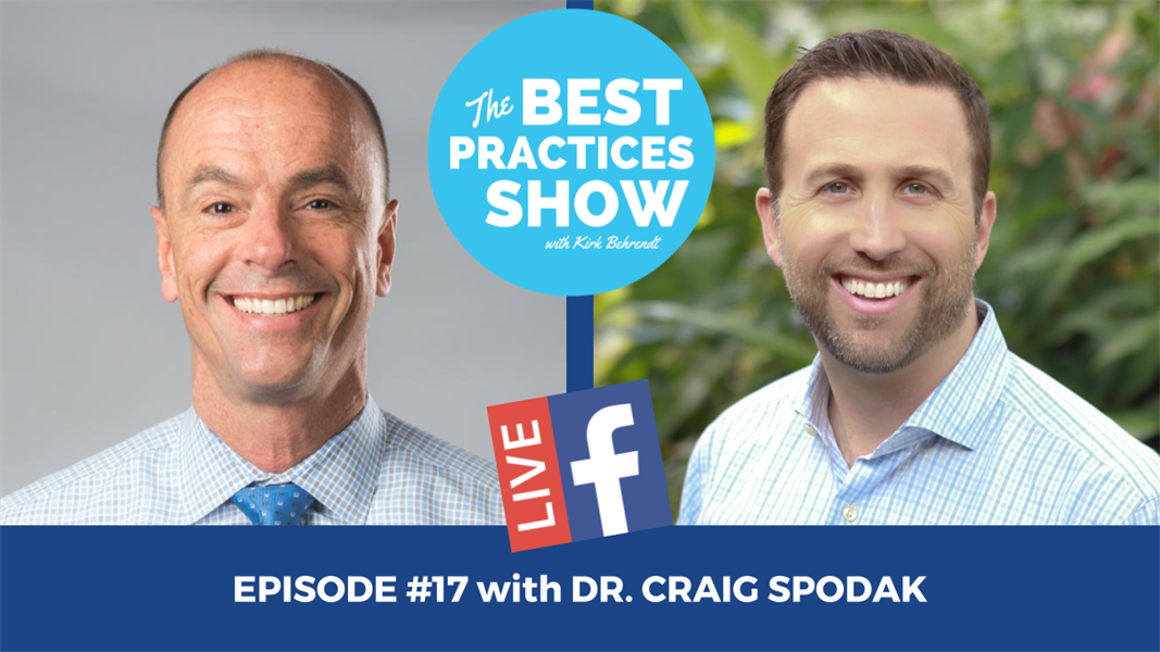 Episode #17 -  Debunking the Biggest Myth to a Great Dental Practice with Dr. Craig Spodak