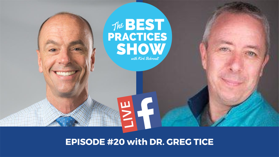 Episode #20 - The Missing Ingredient to Becoming the Complete Clinician with Greg Tice