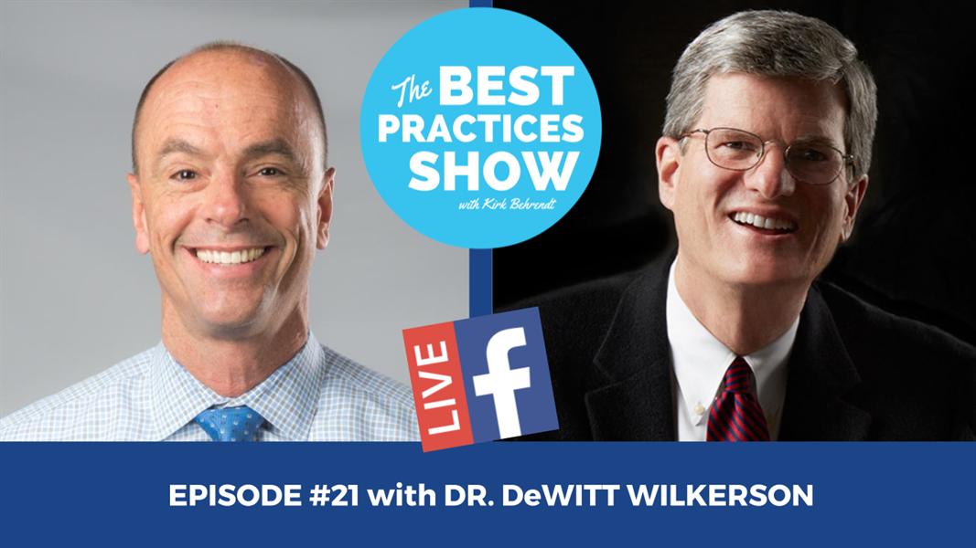 Episode #21 - The Great Awakening in Restorative Dentistry with DeWitt Wilkerson