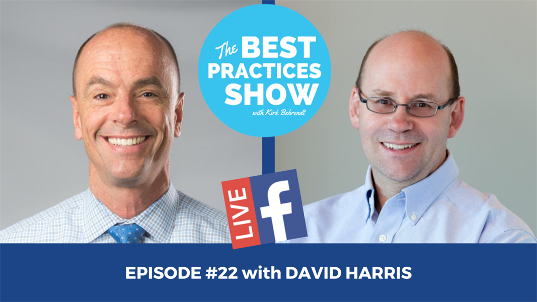 Episode #22 - The Key Indicators That You Could Be Being Embezzled with David Harris
