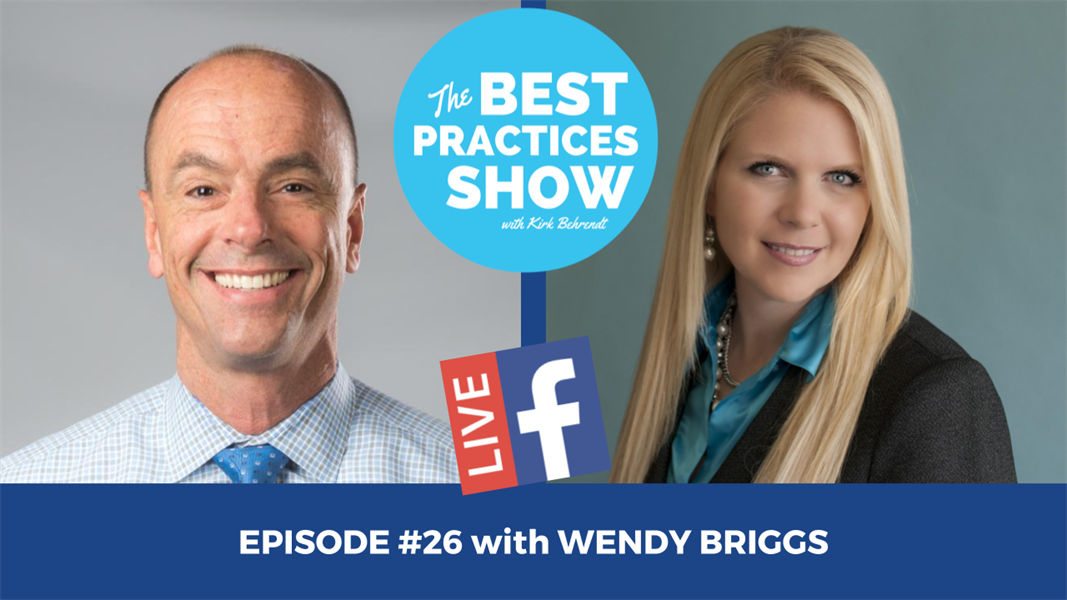 Episode #26 - The Recipe for Greatness in Hygiene with Wendy Briggs