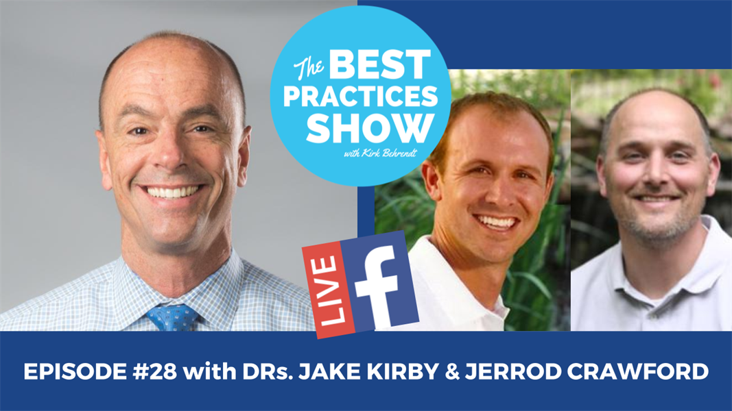 Episode #28 - Rethinking the Work Day-The Straight 8 with Drs. Jake Kirby & Jerrod Crawford