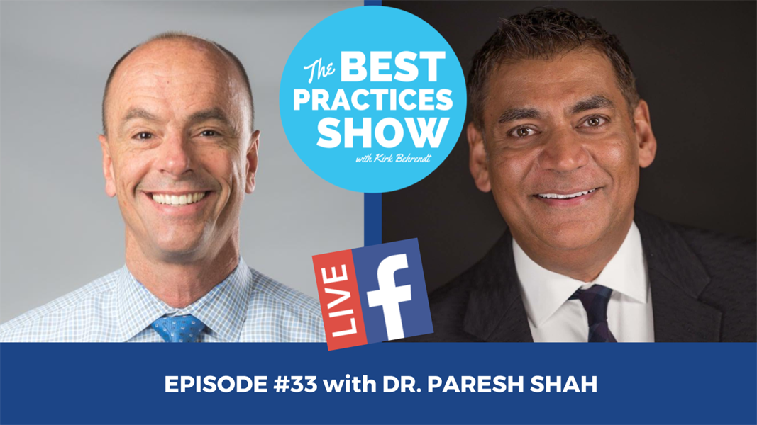 Episode #33 - Progressing to a Contemporary Digital Practice with Dr. Paresh Shah