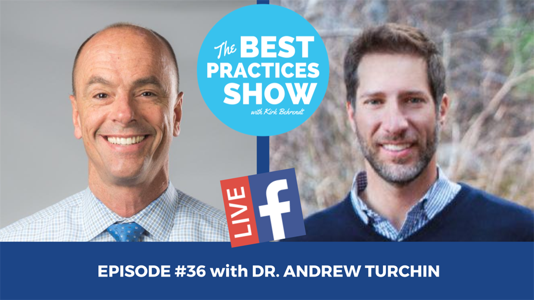 Episode #36 - The Primary Reason You Don't Do More Big Cases with Dr. Andrew Turchin